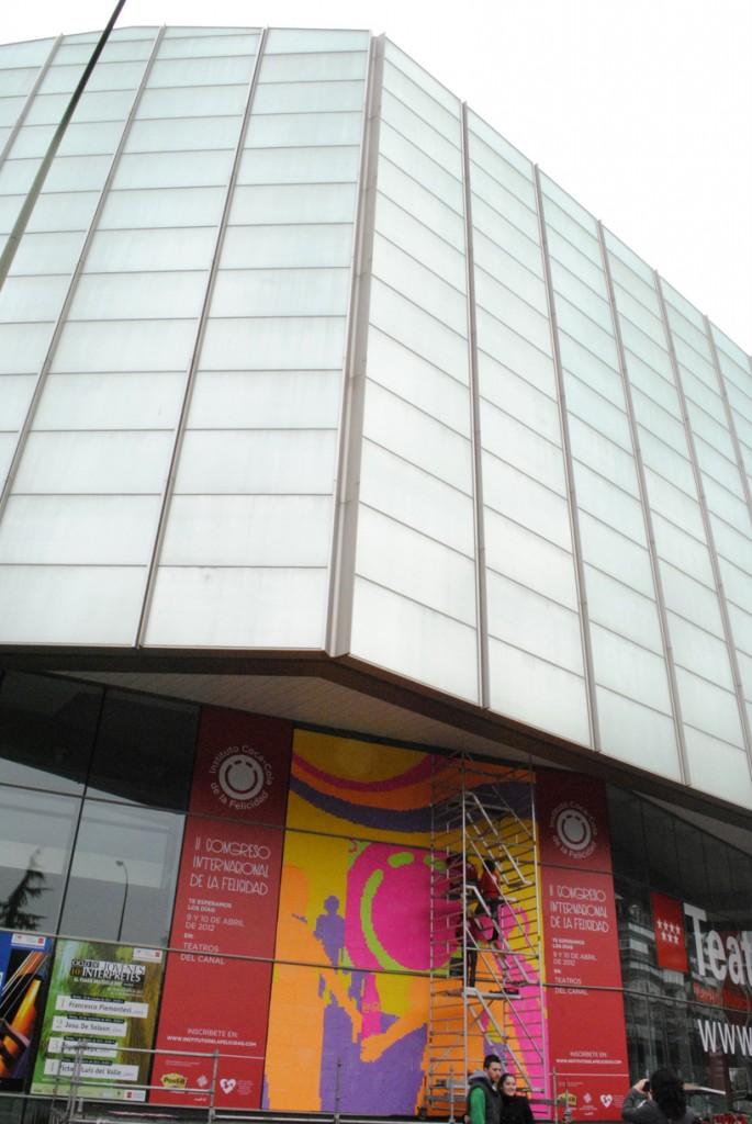Fachada de los Teatros del Canal, Madrid