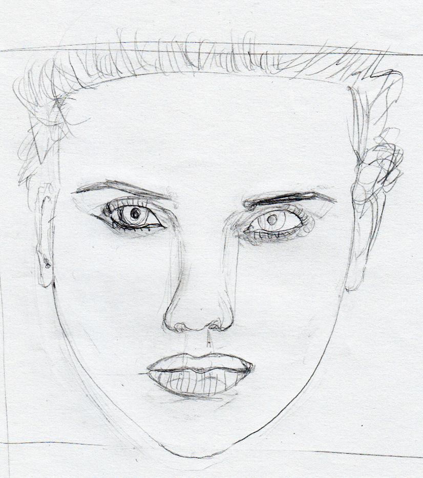 Dibujar retratos  viviendo el arte