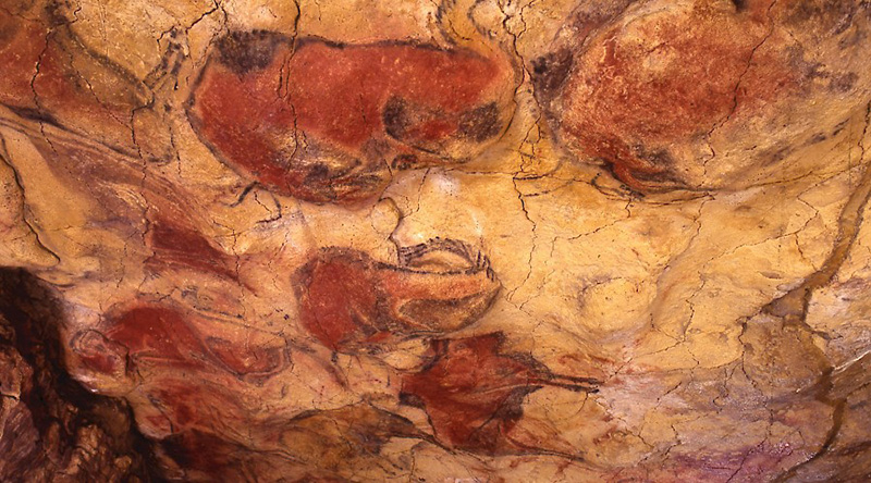 pinturas rupestres cueva de Altamira.