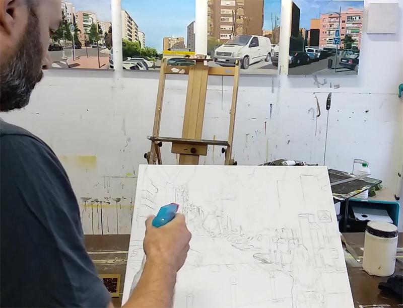 Fijador De Grafito Para Pintar Un Cuadro Al óleo O Acrílico